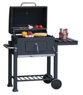 £120 • Buy Charcoal BBQ Grill With Lid Outdoor Cooking Garden Barbecue Square XXL Smoker