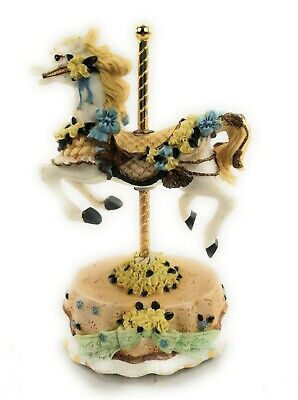 $24 • Buy Melodies County Fair Carousel Horse Heritage House Used Music Box Love Me Tender