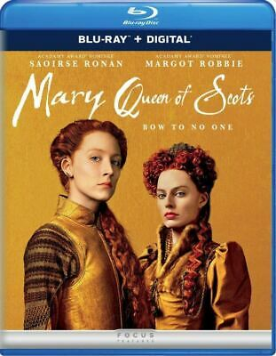 $6 • Buy Mary Queen Of Scots (2018) Blu-ray 2019 No Digital No Slipcase (Saoirse Ronan)