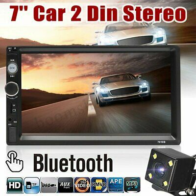 AU75.99 • Buy 7''2DIN GPS Navi Siri Carplay Android Auto Bluetooth Car Stereo Radio MP5 Camera