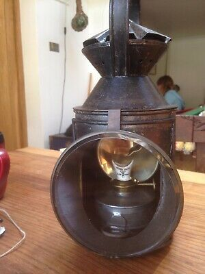 Eary Antique Railway Signal Lamp Original And Complete • 110£
