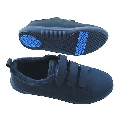 Men's Orthopaedic Shoes Slippers Trainers Arch Support Plantar Fasciitis Black • 32.95£
