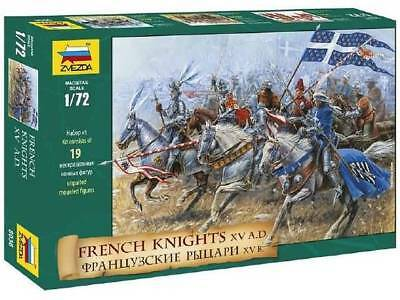 French Knights (re-release) 1/72 Historic Miniatures - Zvezda 8036 • 16.33£