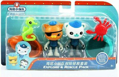 £7.99 • Buy Fisher-Price Octonauts Explore & Rescue Pack Children's Toy Figures Playset Blue