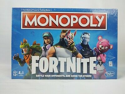 $10.19 • Buy NEW Sealed Monopoly Board Game Fortnite Edition