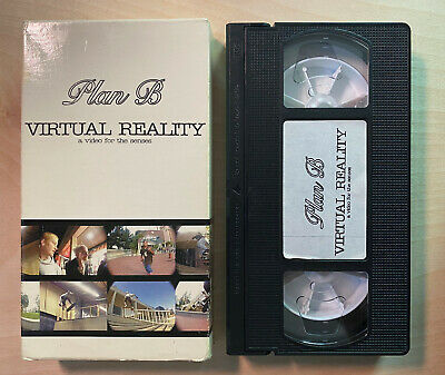 $32.77 • Buy EXTREMELY RARE Plan B Virtual Reality Skateboard (VHS 1993) VERY GOOD CONDITION