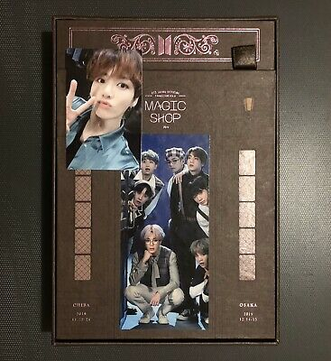 $82 • Buy FULL SET BTS 5th MUSTER MAGIC SHOP DVD With J-HOPE PHOTOCARD