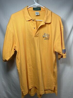 $45.99 • Buy Vtg Michael Jordan Celebrity Golf Tournement Ronald Mcdonald House Polo Shirt