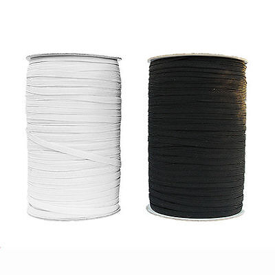 AU37.95 • Buy Elastic 6mm Braided White 200 Mts/ Roll Suitable For Masks, Skirts & Pants Etc.