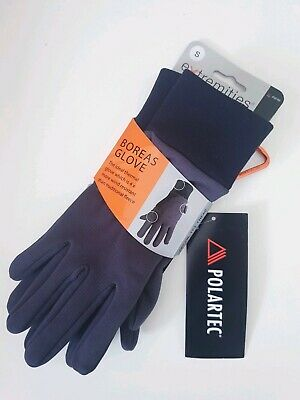 New Extremities Polartec Boreas Glove Thermal Wind Resistant Fleece XS Grey • 13.99£