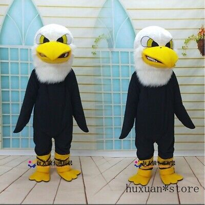 Popular Eagle Mascot Costume Cartoon Character Eagle Bird Outfit Suit Halloween  • 134.99£