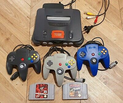 AU15.50 • Buy Nintendo 64 - N64 - Console, 2 Games, 3 Controllers, Expansion Pack