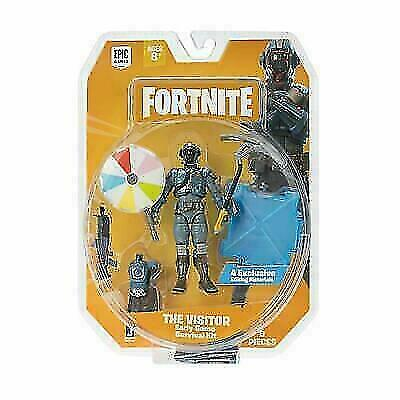 $ CDN9.14 • Buy Fortnight Early Game Survival Kit The Visitor Action Figure 4 Piece Kit New