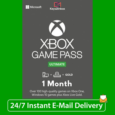 $ CDN8.68 • Buy Xbox Live 1 Month Gold & Game Pass Ultimate (2 X 14 Day Pass) - INSTANT DELIVERY