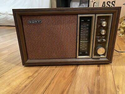 $9.90 • Buy Collectible Sony TFM-9450W AM FM Radio. 11 Transistor - 2 Band Made In Korea