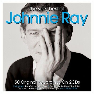 Johnnie Ray - The Very Best Of - Greatest Hits 2CD NEW/SEALED • 5.85£