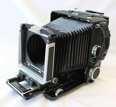 [Exc++++] Wista 45 45D With 6x9 Roll FIlm Holder & Quick Roll Slider From Japan • 455.83£