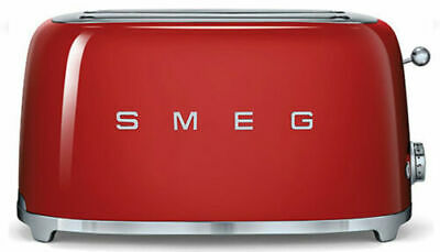 $215.88 • Buy SMEG 50's Retro Style Aesthetic 4 Slice Toaster 1400W Electric Red NEW