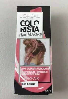 L'Oreal Colorista Washout Semi Permanent Colour #PINK *uk* Fast Delivery* • 1.49£