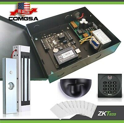 AU391.94 • Buy Access Control 1 Door Zkteco, C3 100 Door Entry System Kit ZK, Exit Montion.USA