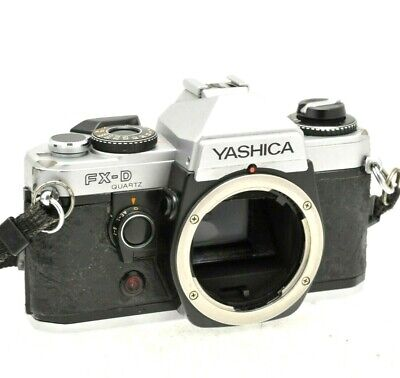 Yashica FX-D 35mm SLR Film Camera Body Only • 34.99£