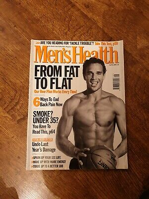 MEN,S HEALTH Magazine JAN/FEB 2001 • 4£