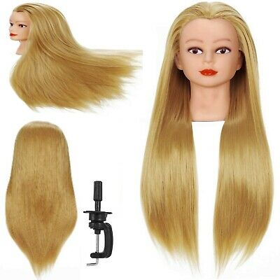 $26.98 • Buy Hair Styling Doll Head Mannequin Hairdressing Model Training Braiding Curling