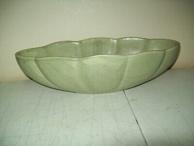 $16 • Buy Vintage Haeger Pottery PLANTER 390S Fruit Bowl Design 13  Green