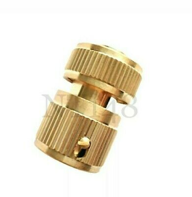 1/2  Quick Release Fast Fit Garden Tap Connector Adapter Watering Hose Brass New • 4.99£