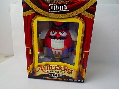 £25.55 • Buy New In The Box M&Ms Nutcracker Sweet Red Chocolate Candy Dispenser