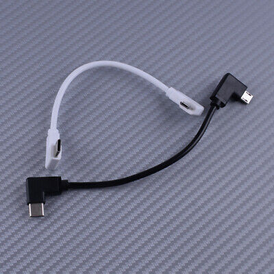 AU12.53 • Buy 90° Micro USB Cable Type C OTG 15cm Fit For DJI Spark Mavic Pro Android