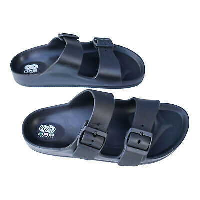 Orthopaedic Sandals Arch Support Shoes Plantar Fasciitis Heel Cup Beach Black • 9.99£