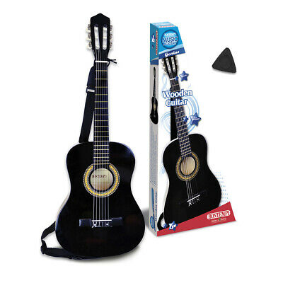 3/4 Size Acoustic Guitar With Strap Childrens First Musical Instrument Black • 52.49£
