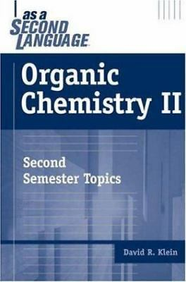 $5.56 • Buy Organic Chemistry II As A Second Language: Second Semester Topics