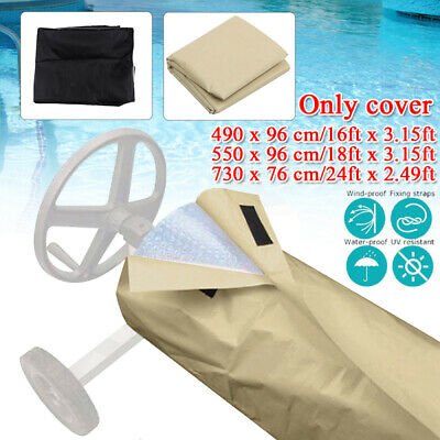 Multi-function16-24ft Swimming Pool Protective Cover For Ground&Inground Pools • 20.58£