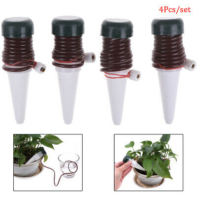 4PCS Plant Self Watering Stakes Automatic Drip Spikes Irrigation System Gar  IJ • 6.09£