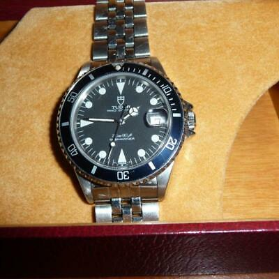 $ CDN5563.85 • Buy TUDOR Rolex Prince Oyster Date Submariner 75090 Black Men's Watch Box & Papers