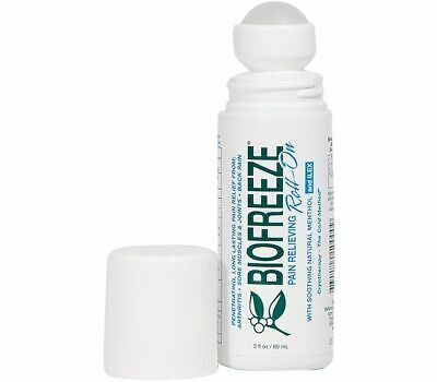 Biofreeze Pain Relieving Roll On Gel COLD Menthol GEL Arthritis Strains Sprains  • 15.45£