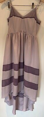 Rory Beca Forever 21 Women High Low Lavender Midi Sleeveless Dress Size S/P • 15£