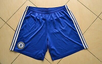 Chelsea England 2008/2009 Home Football Shorts Jersey Adidas Size L Adult • 17.99£