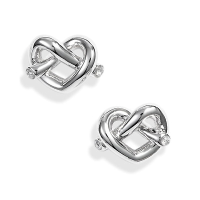 $ CDN34.34 • Buy Kate Spade Loves Me Knot Stud Earrings Silver