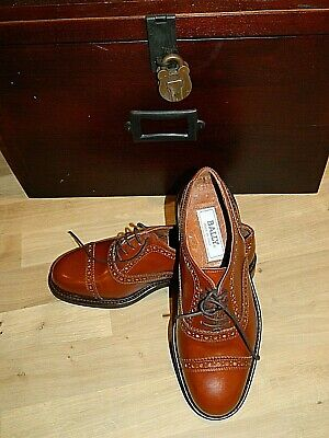 Mens Bally Oxford Brogue Shoes Size 40 ..Made In Italy  • 79.99£