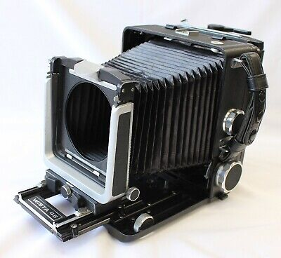 [Exc Wista 45 45D With 6x9 Roll FIlm Holder & Quick Roll Slider From Japan • 515.94£