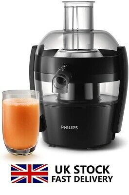 Philips Hr1832/01 Viva Collection Compact Juicer 1.5l 500w Black  2year Warranty • 94.49£