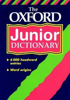 OXFORD JUNIOR DICTIONARY NEW ED 00, , Good Condition Book, ISBN 0199107068 • 2.55£