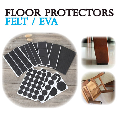 AU4.98 • Buy Non Slip Self-Adhesive Furniture Felt Pads Chair Table Leg Pad Floor Protector
