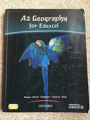 £8.20 • Buy A2 Geography For Edexcel'  Paperback