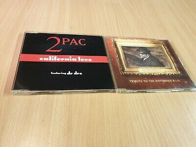 2PAC & Notorious BIG CD Singles • 4.99£