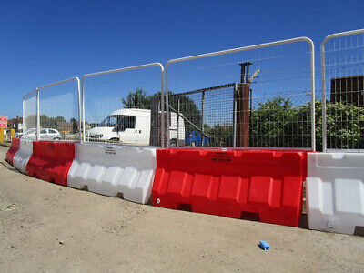 Water Filled Road Barrier Site Security Fencing Sets, Marwood Universal 2000  • 60£