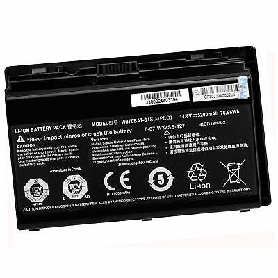 $66.69 • Buy Genuine 6-87-W37SS-4271 Battery For Clevo W355ST K590 W350ST Sager NP6370 NP7358